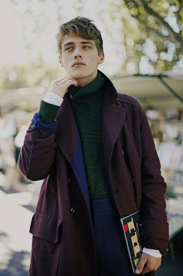 Photo by Fanny Latour-Lambert Model Billy Vandendooren Styling Luca Roscini for Style Magazine Italia