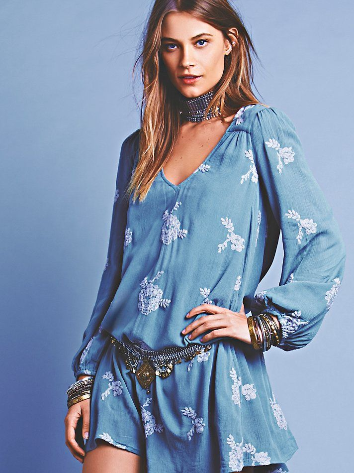 Boho Clothing Austin Free People Embroidered Austin