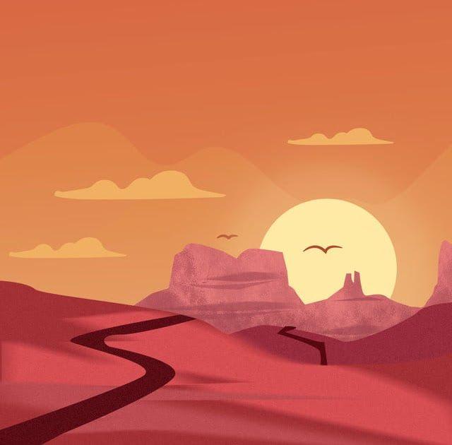 29 Lukisan Pemandangan Alam Tanpa Warna Lukisan Tangan Kartun Pasir Padang Pasir Yang Pemandangan Download Contoh Gambar Pemanda Di 2020 Pemandangan Gambar Kartun