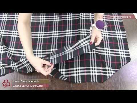 Платье или туника из палантина