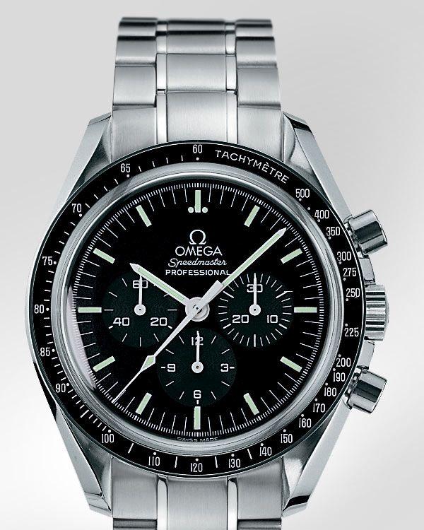 "OMEGA Speedmaster Professional ""Moonwatch"" Chronograph - Steel on steel - 3570.50.00"