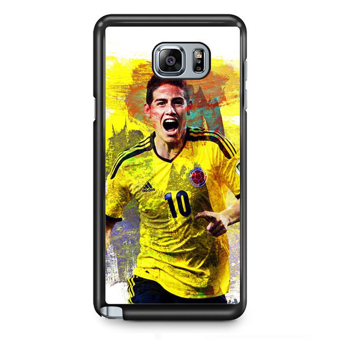 James Rodriguez Football Player TATUM-5789 Samsung Phonecase Cover Samsung Galaxy Note 2 Note 3 Note 4 Note 5 Note Edge