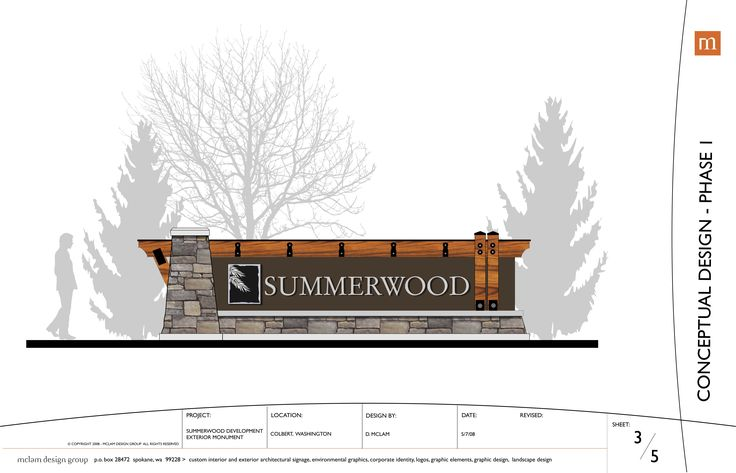 Architectural signage, spokane sign designs, spokane sign monument design, spokane monument designs, lobby signs, entry monuments, custom real estate signs, spokane signs, spokane sign design