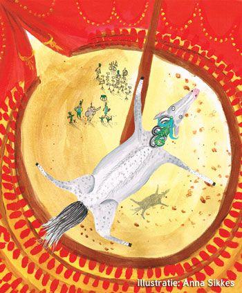paard-boven-circus-illustratie