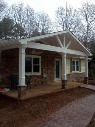 EXOVATIONS® Front Porch Addition Pictures, Foss Home - AFTER Photo