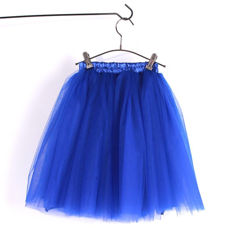 >> Click to Buy << Fluffy Layered Tulle Tutu Skirt Ballet Dance Party Wedding Pettiskirt for Big Girl 7-16 Years Children and Adult Size Royal Blue #Affiliate