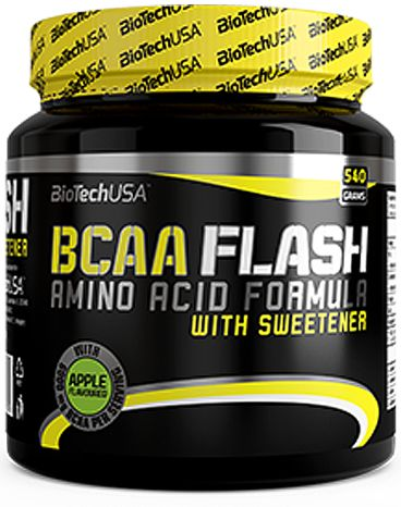 BIOTECH BCAA FLASH ZERO 360G Aminokwasy+Glutamina