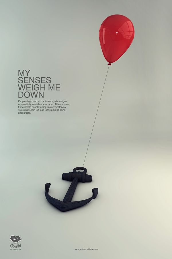 Autism Awareness Campaign by Hina Nazir, via Behance