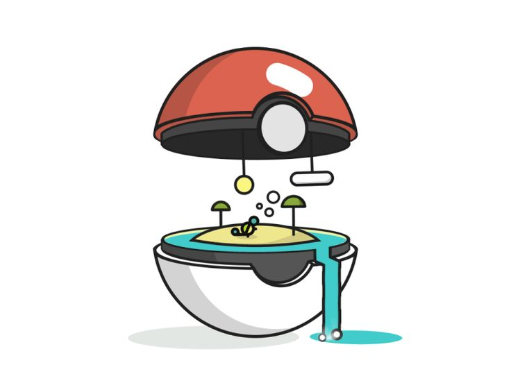 Pokébiome 007: Squirtle by John Schlemmer