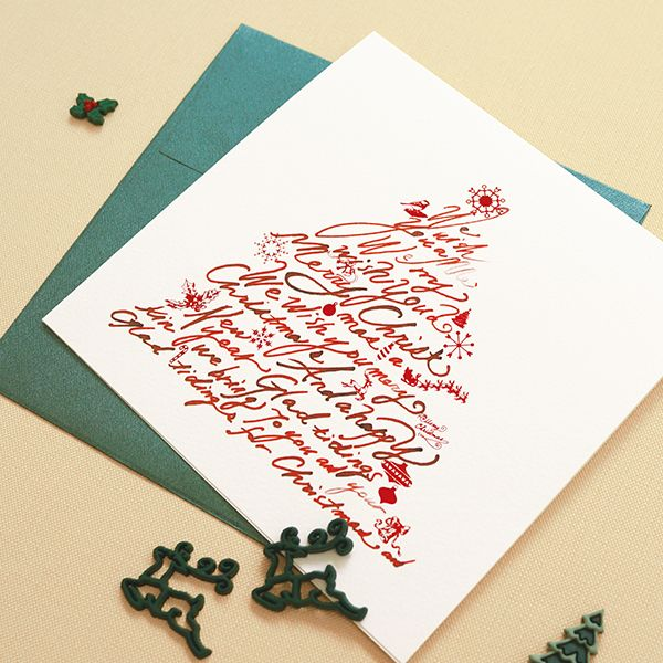 K-paper chrirstmas card c15037mm