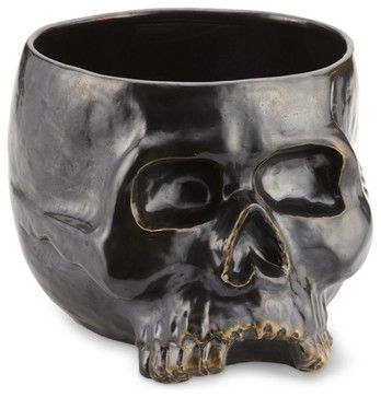 Halloween Skull Punch Bowl eclectic-holiday-decorations  http://www.houzz.com/photos/6129535/Halloween-Skull-Punch-Bowl-eclectic-holiday-decorations