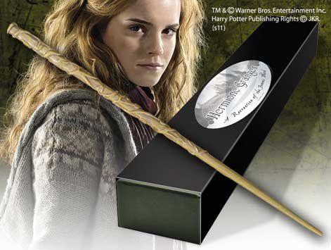 Baguette de Hermione Granger Baguette Houx, plume de phénix, 27,5 cm Fabriquer par Garrick Ollivander