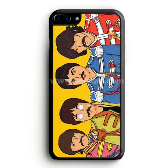 Beatles Sgt Pepper Cartoon case provides a protective yet stylish shield between your iPhone 7 Plus and accidental bumps, drops, and scratches. Features slim and lightweight profile, precise cutouts,