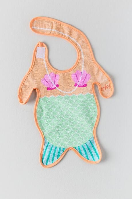 Mermaid Baby Bib $12.00  Can I just buy this now and pray someday I have a girl?