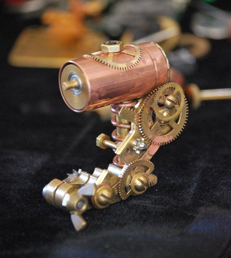 Copper Direct no. 1 - Steampunk Rotary by Special Technique