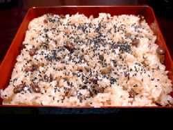 炊飯器で作るお赤飯の作り方(すいはんきでつくるおせきはん)