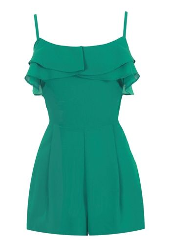 Emerald Green Romper from Ark & Co