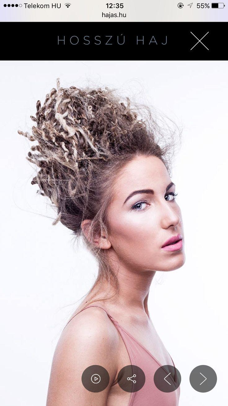 Hair : Georgina Schmidt  Make up: Fanni Kökény  Modell: Enikő Tajti  Photo: András Vízi