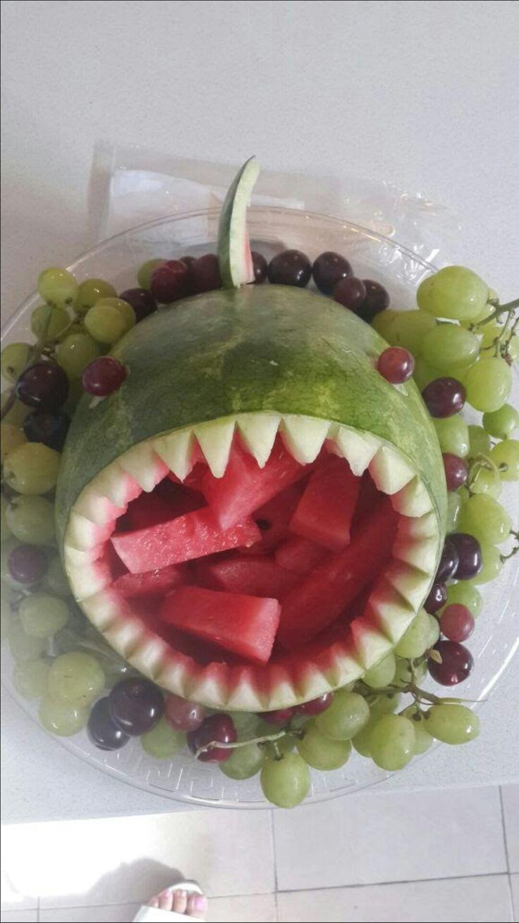 Best ideas about shark watermelon on pinterest