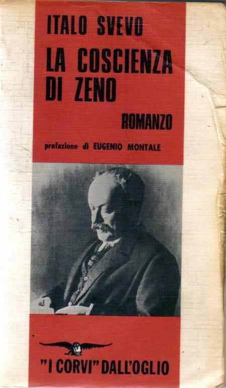 """La coscienza di Zeno, Italo Svevo, principale rappresentante italiano del """"Nuovo romanzo"""" psicologico che analizza la crisi dell'uomo contemporaneo."""