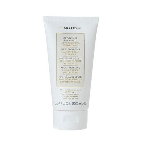 Korres Milk Proteins Foaming Cream Cleanser 150ml