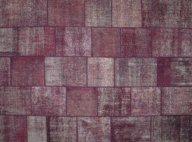Old carpets are given a new lease of life with the deliberate intention of reusing them to create stunning designs such as this Karma Patchwork KA6053 carpet. Find it now at design2taste.com