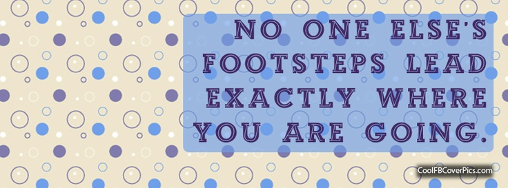 FREE facebook cover pic...footsteps