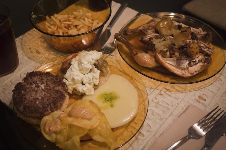 Visit La Granja Rural Food for a modern take on traditional Spanish food