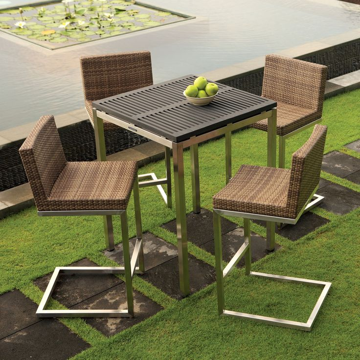 Outdoor Bar Table Palms Collection Thos Baker