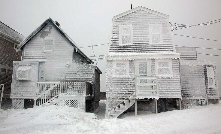 Tormenta invernal barre Massachusetts y Connecticut
