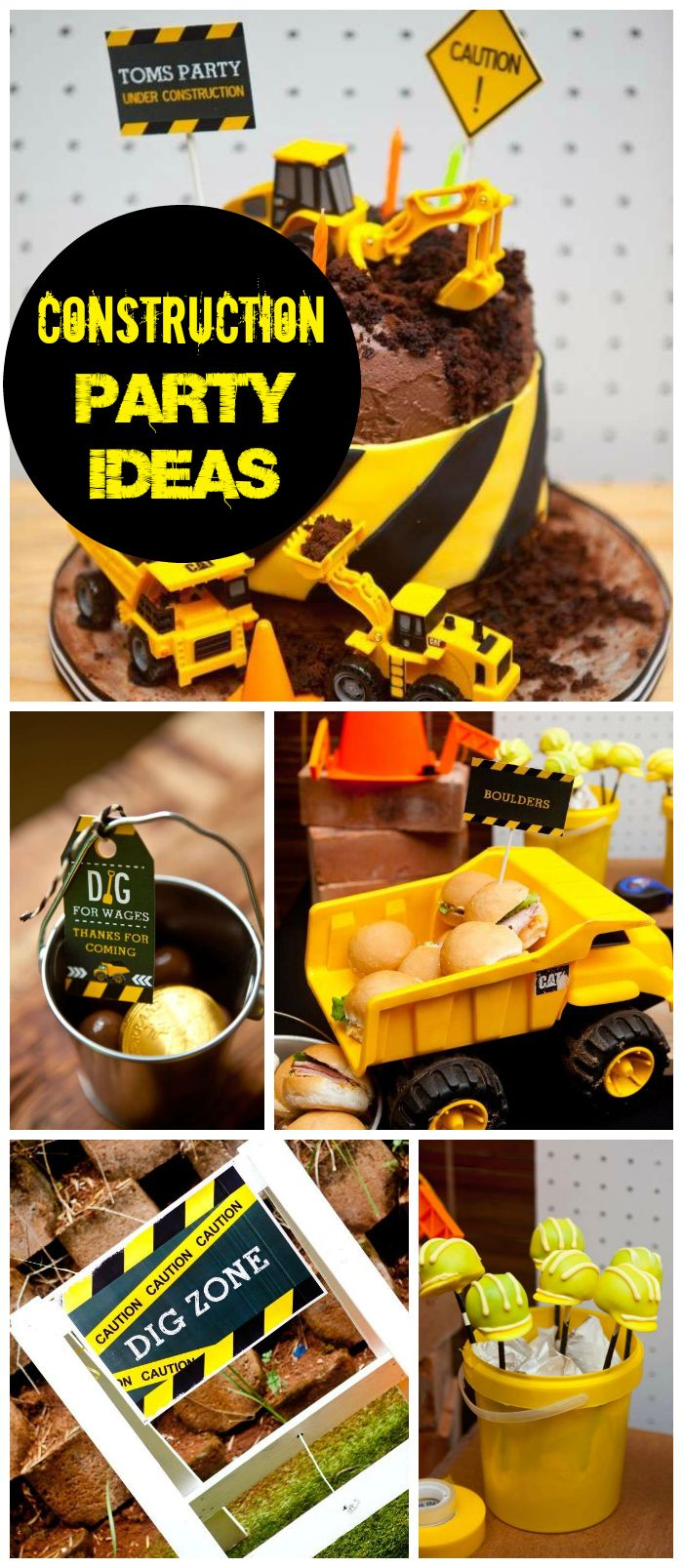 best 25 construction party foods ideas on pinterest