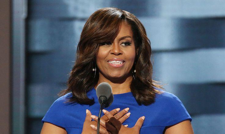 Michelle Obama, una Primera Dama que habla como madre: 'Somos los modelos más importantes para nuestros hijos'