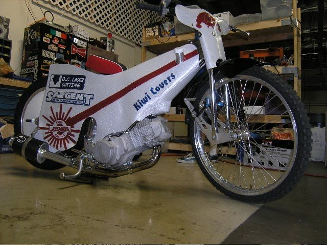 Speedway Motorcycle Racing Bikes: THE EVOLUTION OF THE SPEEDWAY BIKE