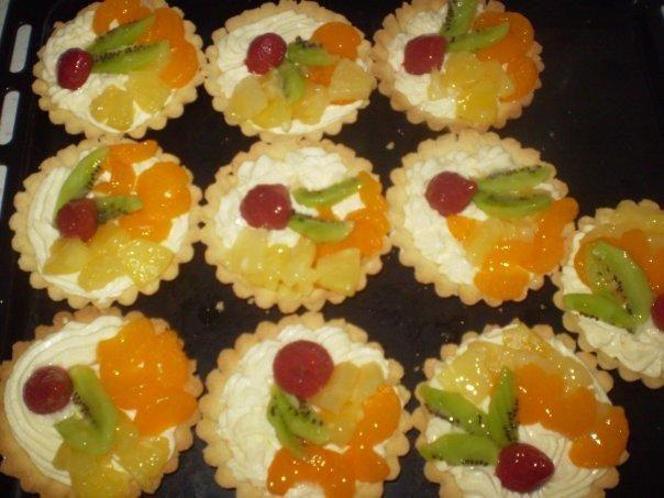 Ovocné košíčky, recepty, Drobné pečivo | Tortyodmamy.sk