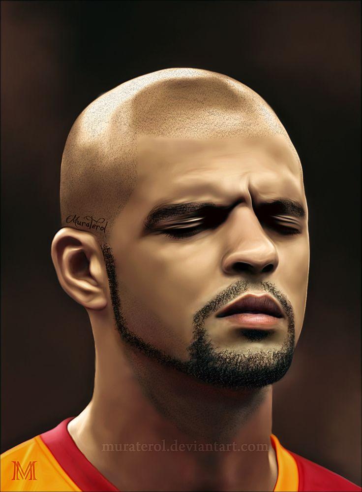 Felipe melo Brazil Galatasaray Digital Painting Portrait