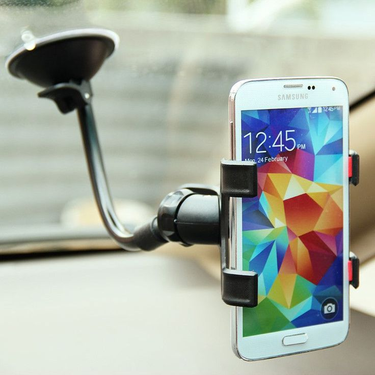 Universal Car Holder Cell Phone Holder For Iphone 6 6s plus SE Stand Support for Samsung Flexible Mobile Phone Holder For Sony