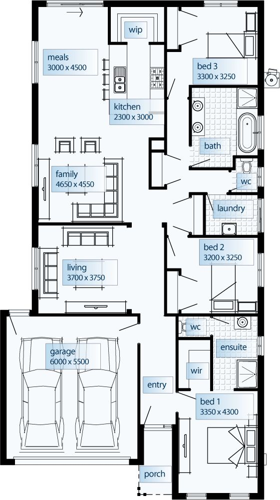 Madison 2212 Floor Plan By Simonds Homes