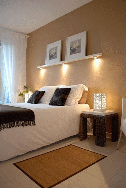 bedroom lighting options above bed lighting shelf idea instead of a headboard 10535