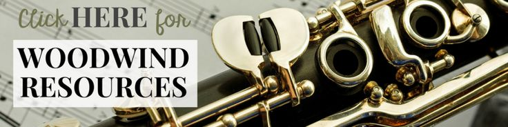 Woodwind Instrument Resources for Band Directors and Private Lesson Teachers
