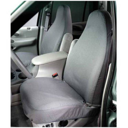 Covercraft Covss3384Pcgy 07-C Tundra 40/20/40 with Ad Headrest with Console Grey Seat Covers, Gray