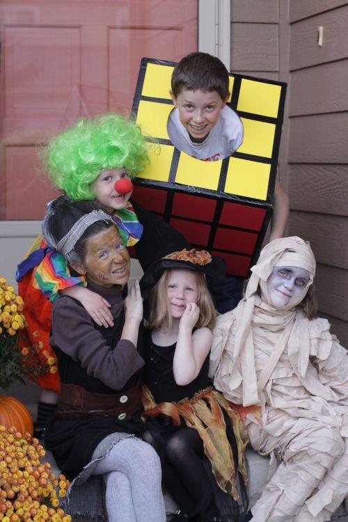 five DIY kid costumes