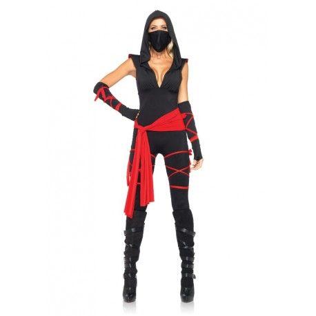 Disfraz Ninja Asesina Disfraces Gamar