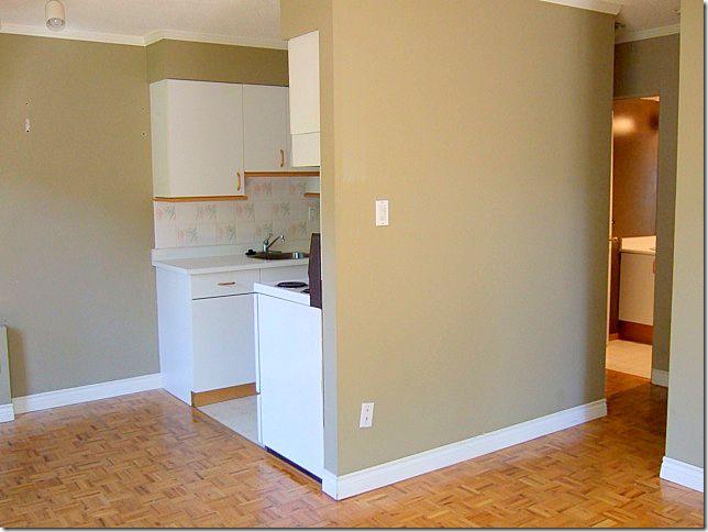 apartment kitchen before
