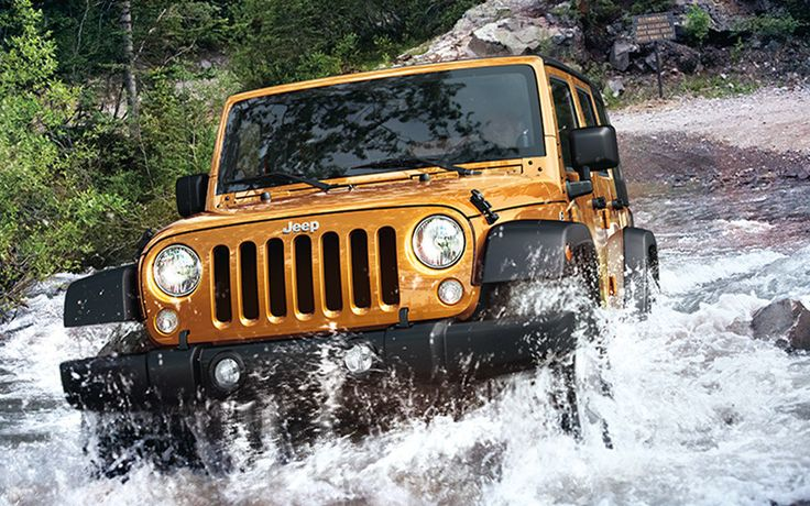Jeep® Wrangler Unlimited Sport offers a powerful 3.6L