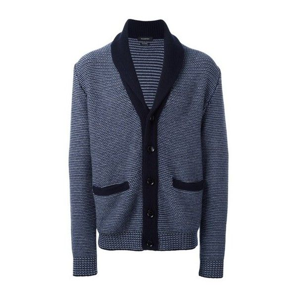 ERMENEGILDO ZEGNA Woven Button Down Cardigan ($1,687) ❤ liked on Polyvore featuring men's fashion, men's clothing, men's sweaters, blue, mens cashmere cardigan sweater, mens button down sweaters, mens cashmere sweaters, mens button down cardigan sweaters and mens cardigan sweaters