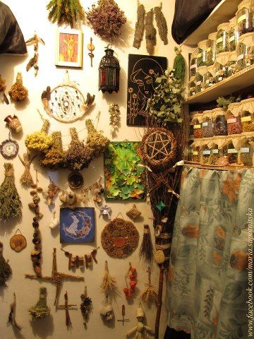 an awesome witchs storeroom with all kinds of cool stuff!   ~Maria Sapotnitska