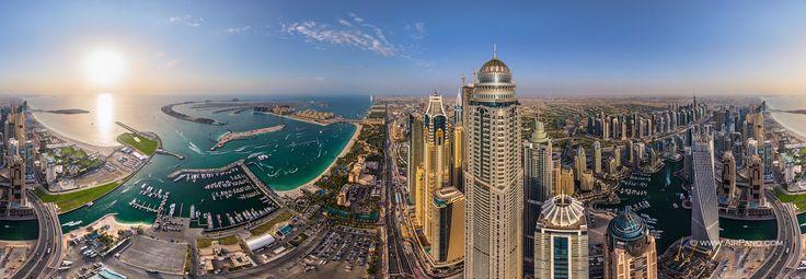 Princess Tower #2 • AirPano.com • Photo. Dubai City Island.