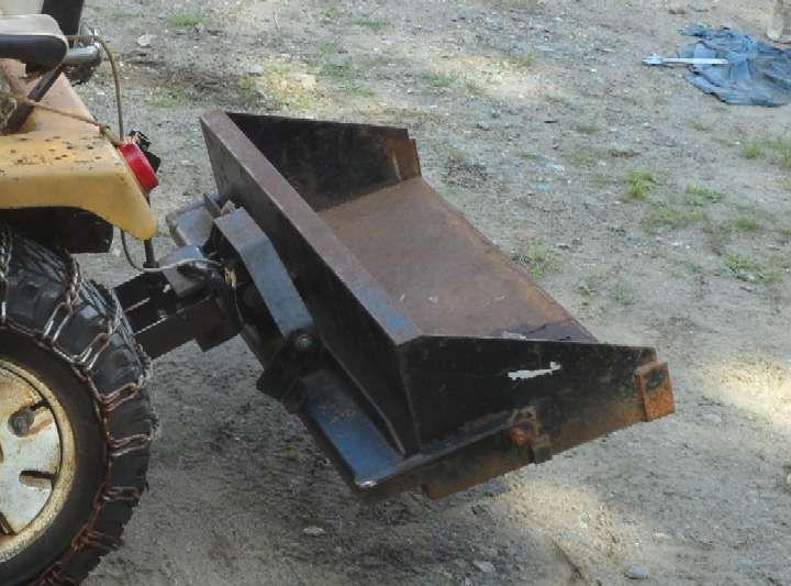 Garden Tractor Bucket : Michael s tractors simplicity and allis chalmers garden
