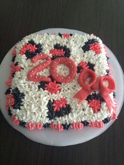 Torta cumpleaños 20