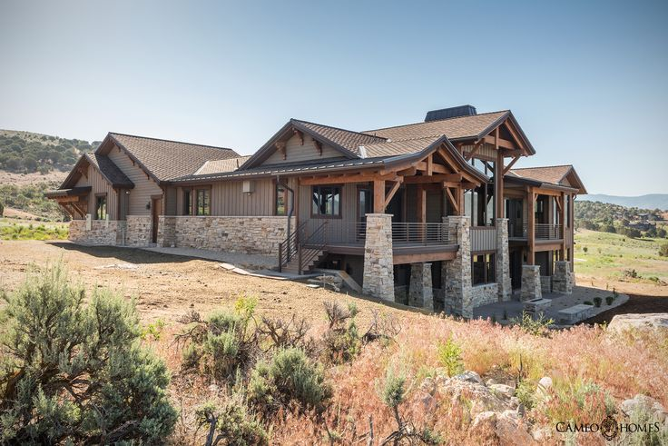 New Luxury Home in Red Ledges, Heber, Utah by Cameo Homes